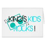 King's Kids Rocks Card