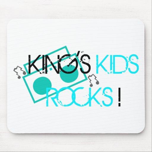 King's Kids Rocks Mousepad