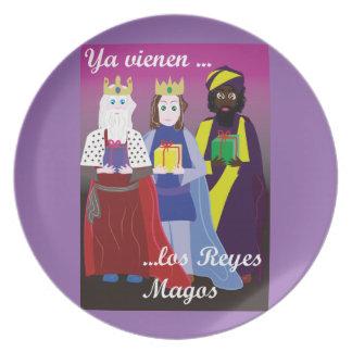 Kings Magos Plate