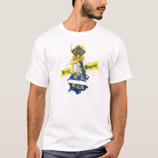 Kings of Bosnia Male Metallic Shirt