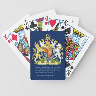 Kings of England (Britain) Royal Bicycle Card Deck