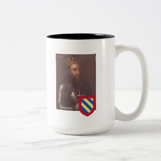Kings of Portugal 2, Sancho I Two-Tone Coffee Mug