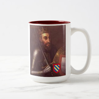 Kings of Portugal*, Number 1, Afonso Henriques Two-Tone Coffee Mug