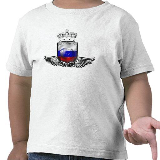 Kings of Soccer Slovenia emblem futbal crest Shirts