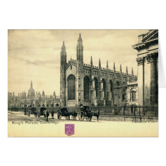 King's Parade, Cambridge England 1915 Vintage Card