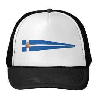 King'S Pennant Of Greece, Greece flag Mesh Hats