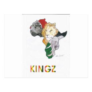 KINGS POSTCARD