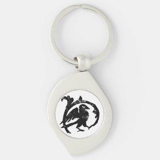King's Raven keychain