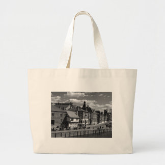 Kings Staith York river Ouse Canvas Bags