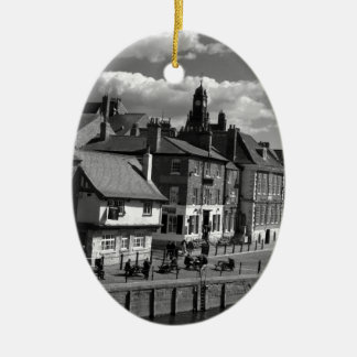 Kings Staith York river Ouse Ceramic Ornament