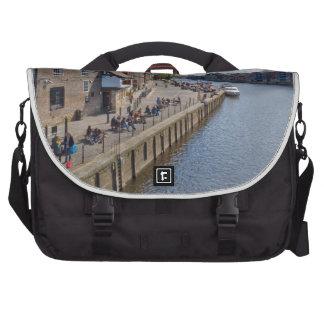 Kings Staith York river Ouse Laptop Messenger Bag