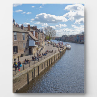 Kings Staith York river Ouse Display Plaque