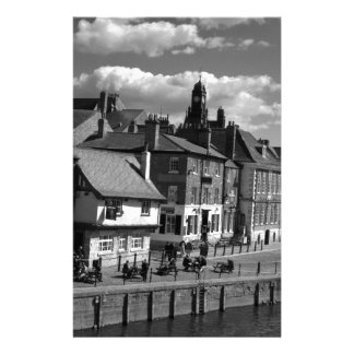 Kings Staith York river Ouse Stationery