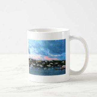 King's Wharf Bermuda Harbor Sunrise Coffee Mug