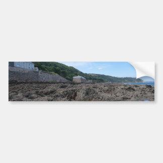 Kingsand: Rocky Cornish Beach Bumper Sticker