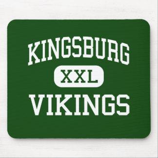 Kingsburg - Vikings - High - Kingsburg California Mouse Pad