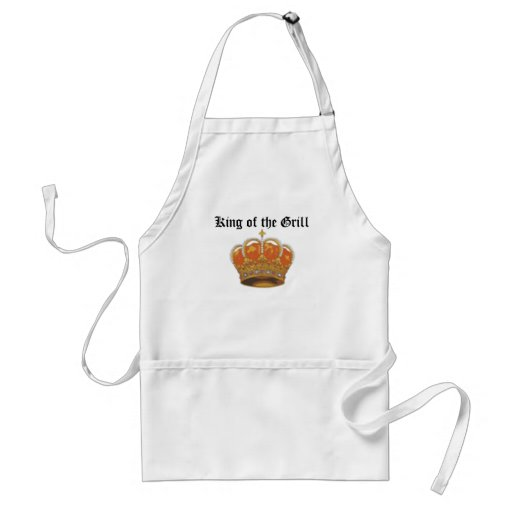 king'sCrown, King of the Grill Apron