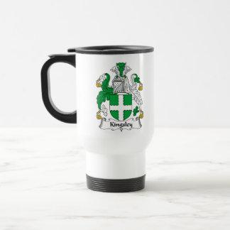 Kingsley Family Crest Mug