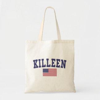 Kingsport US Flag Tote Bag