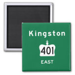 Kingston 401 fridge magnets