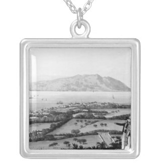 Kingston and Port Royal Silver Plated Necklace