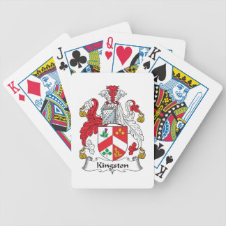 Kingston Family Crest Bicycle Card Deck