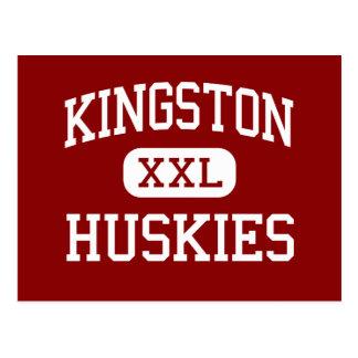 Kingston - Huskies - High - Kingston Pennsylvania Postcard