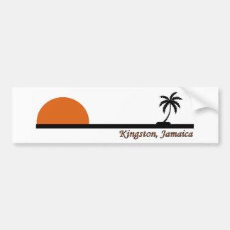 Kingston, Jamaica Pegatina De Parachoque