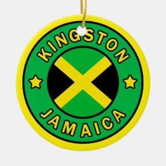 Kingston Jamaica Ceramic Ornament
