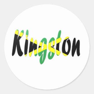 Kingston, Jamaica Classic Round Sticker