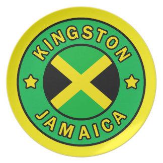 Kingston Jamaica Dinner Plate