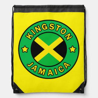 Kingston Jamaica Drawstring Backpack
