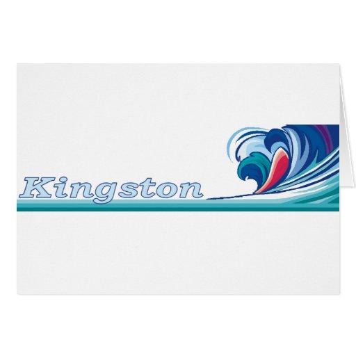 Kingston, Jamaica Greeting Card