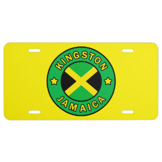 Kingston Jamaica License Plate