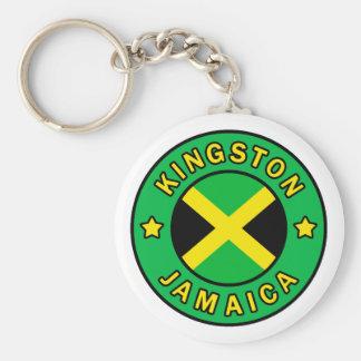 Kingston Jamaica Llavero Redondo Tipo Pin