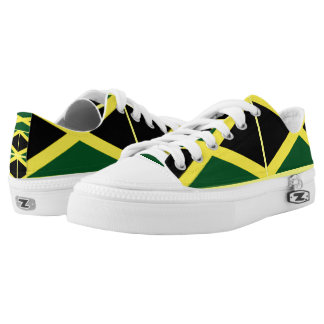 Womens jamaican flag shoes sneakers zazzle kingston jamaica low top sneakers voltagebd Gallery