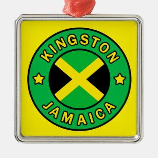 Kingston Jamaica Metal Ornament