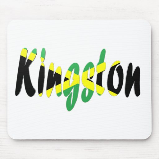 Kingston, Jamaica Mouse Pads