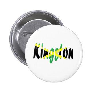 Kingston, Jamaica Pinback Button