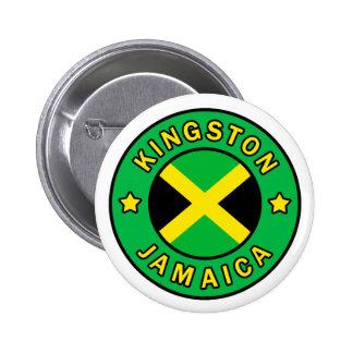 Kingston Jamaica Pinback Button