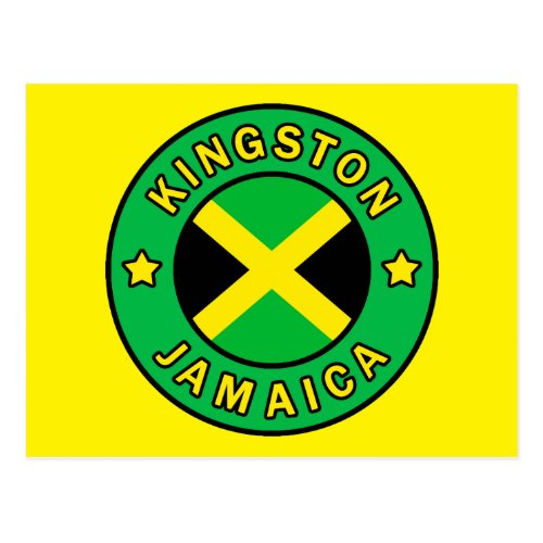 Kingston Jamaica Postcard