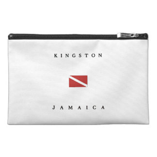 Kingston Jamaica Scuba Dive Flag Travel Accessory Bag