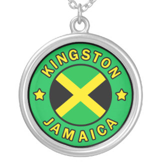 Kingston Jamaica Silver Plated Necklace