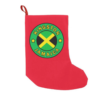 Kingston Jamaica Small Christmas Stocking