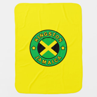 Kingston Jamaica Swaddle Blanket