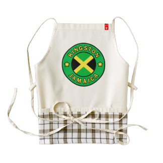 Kingston Jamaica Zazzle HEART Apron