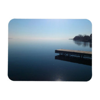 Kingston lake,Ontario.  Beautiful photo of lake... Magnet