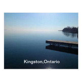 Kingston lake,Ontario Postcard