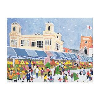 Kingston Market Surrey  2 Canvas Print