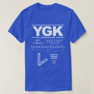 Kingston Norman Rogers Airport YGK T-Shirt